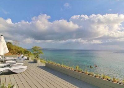 180° ocean view from pool deck